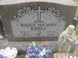 Rosalie <i>Van Horn</i> Biddle