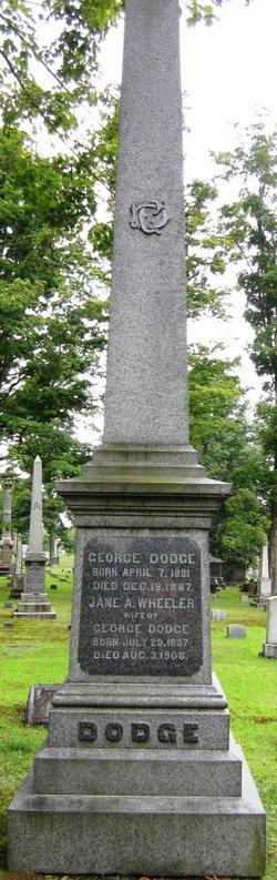 Jane A. <i>Wheeler</i> Dodge