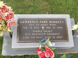 Pvt Lawrence P. Burkett