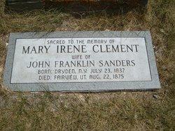 Mary Irene <i>Clement</i> Sanders