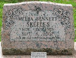 Melba Bennett <i>Roberts</i> Skeeles