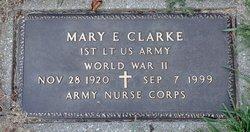 Mary E Clarke