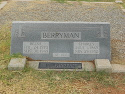 Bessie <i>O'Bannon</i> Berryman