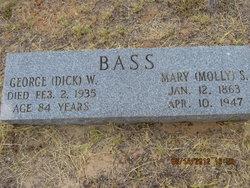 George Washington Dick Bass