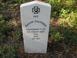 Pvt Isaiah Fulford