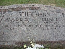 George E Schoemann, Sr