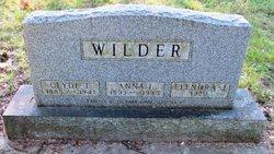 Anna I. <i>Myers</i> Wilder
