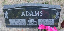 Patricia L. <i>Geer</i> Adams