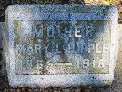Mary Lucinda <i>Gleason</i> Hipple