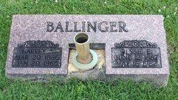 Bessie Mae <i>Edlin</i> Ballinger