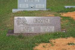 Carrie Belle <i>Hutcheson</i> Booth