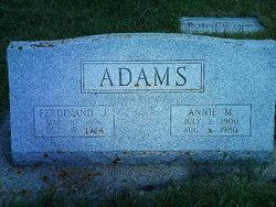 Ferdinand John 'Ferd' Adam