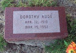 Dorothy <i>Rude</i> Harper