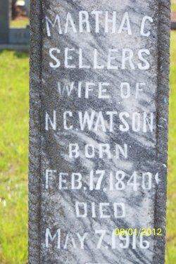 Martha Clamanda <i>Sellers</i> Watson