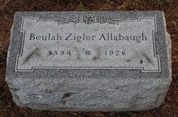 Beulah E <i>Zigler</i> Allabaugh