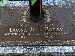 Donna Jean Bailey