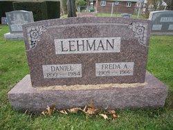 Freda Amelia <i>Sitman</i> Lehman
