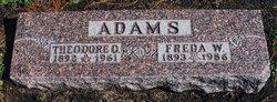 Freda W. Adams