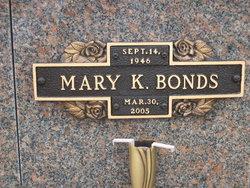 Mary K Bonds