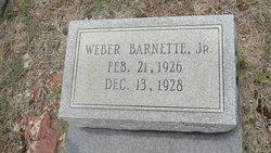 Weber Barnette, Jr