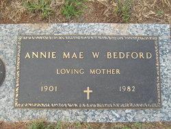 Annie Mae <i>W.</i> Bedford