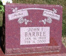 John I Barbee