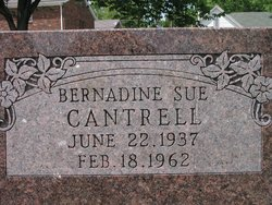 Bernadine Sue Cantrell