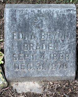Edna Belle <i>Armstrong</i> Bryan - Braden