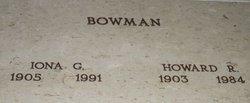 Howard Russell Bowman