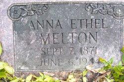 Anna Ethel <i>Whitsett</i> Melton