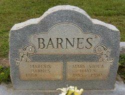 Mary Viola <i>Hayes</i> Barnes