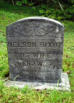 Sarah J <i>Willey</i> Bixby
