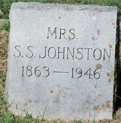 Anna Lillian Lillie <i>Pulliam</i> Johnston