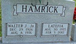 Latefia Lou <i>Solomon</i> Hamrick