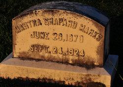 Martha <i>Shapard</i> Marks