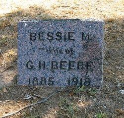 Bessie M Beebe