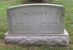 Rev James T Mccrory