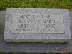 Mary <i>Dunn</i> Abel