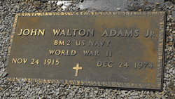 John Walton Adams, Jr