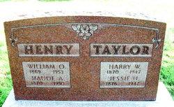 Harry W Taylor