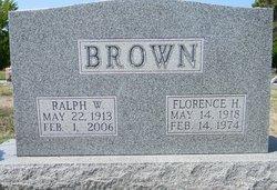 Florence Aletha <i>Herring</i> Brown