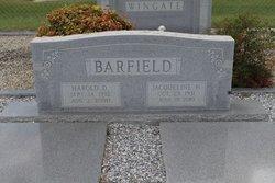 Harold D Barfield