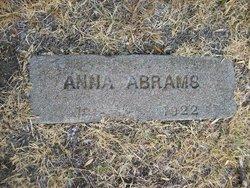 Anna <i>Block</i> Abrams