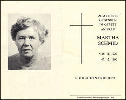 Martha Schmid