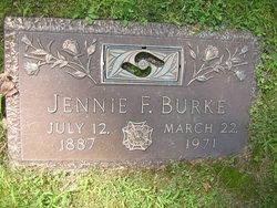 Jennie F Burke