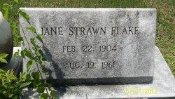 Martha Jane Jane <i>Strawn</i> Flake