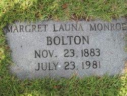 Margret Launa <i>Monroe</i> Bolton