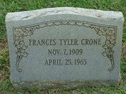 Frances <i>Tyler</i> Crone