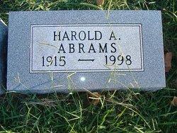 Harold A. Abrams