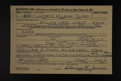 Clarence Wilburn Jones
